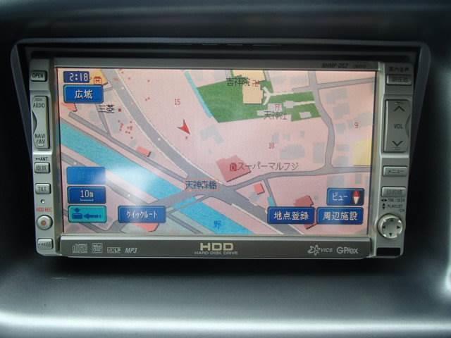 ダイハツ アトレーワゴン ツーリングターボHDDナビ両側スライドドア電格M