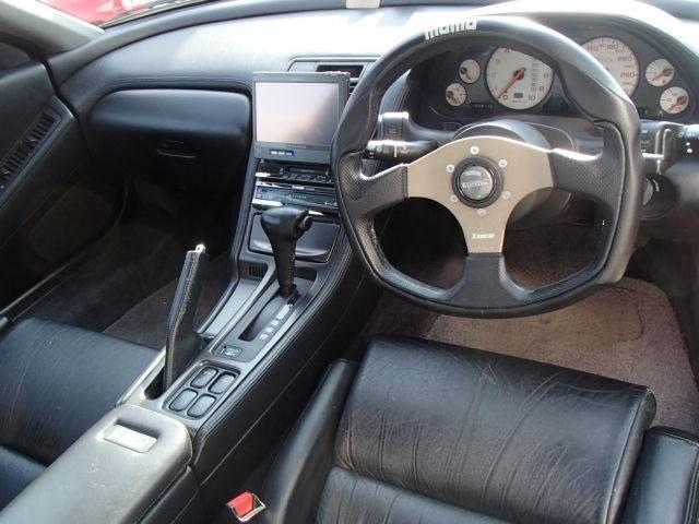 ホンダ NSX ストラーダHDDナビ黒本革PシートHKS車高調HID