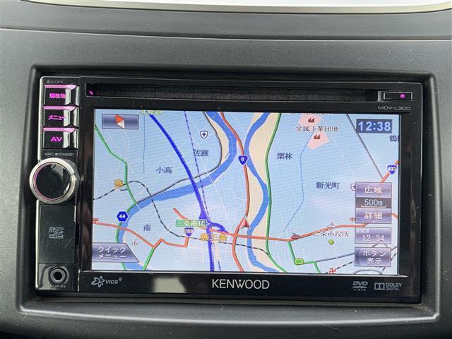 XG-DJE メモリナビ MDV-L300 FM AM CD DVD AUX iPod ワンセグTV バックカメラ ETC プッシュスタート スマートキー アイドリングストップ フロアマット ドアバイザー(6枚目)