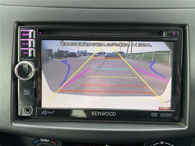 XG-DJE メモリナビ MDV-L300 FM AM CD DVD AUX iPod ワンセグTV バックカメラ ETC プッシュスタート スマートキー アイドリングストップ フロアマット ドアバイザー(8枚目)