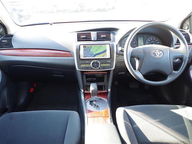 A15 純正DVDナビ CD AUX ETC ABS 社外アルミ 夏タイヤ純正アルミ4本 オートライト スペアキー1本(3枚目)