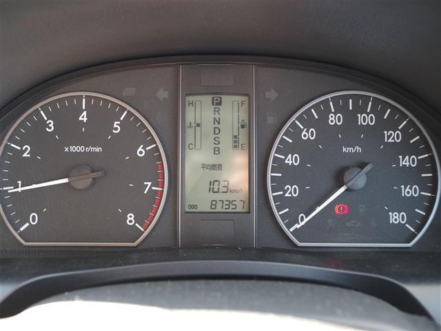 A15 純正DVDナビ CD AUX ETC ABS 社外アルミ 夏タイヤ純正アルミ4本 オートライト スペアキー1本(9枚目)