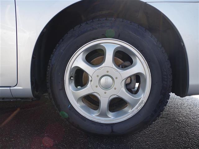 A15 純正DVDナビ CD AUX ETC ABS 社外アルミ 夏タイヤ純正アルミ4本 オートライト スペアキー1本(39枚目)