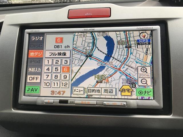 G ジャストセレクション メモリナビ 地デジTV Bluetooth DVD iPod ETC 冬タイヤ車載 片側パワースライドドア HID オートライト ドアバイザー ウインカーミラー 電格ミラー(4枚目)