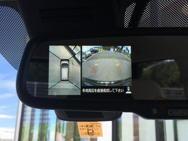 【アラウンドビューモニター】駐車が苦手な方でも映像で後方の安全確認もしっかり♪見えない死角の部分や距離感などモニターで確認することが可能です!