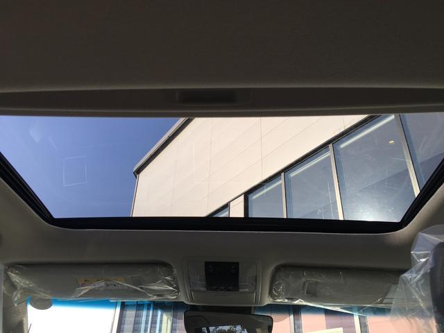 【サンルーフ】解放感溢れるサンルーフ、車内には爽やかな風や太陽の穏やかな光が差し込みます♪