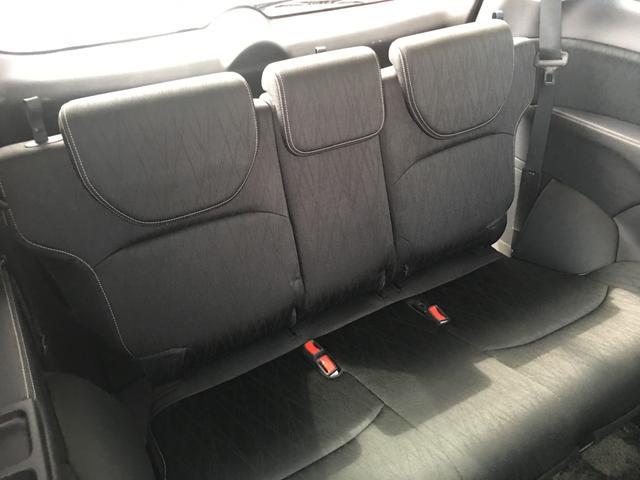 【サードシート】床下に収納することも可能なサードシートです!!