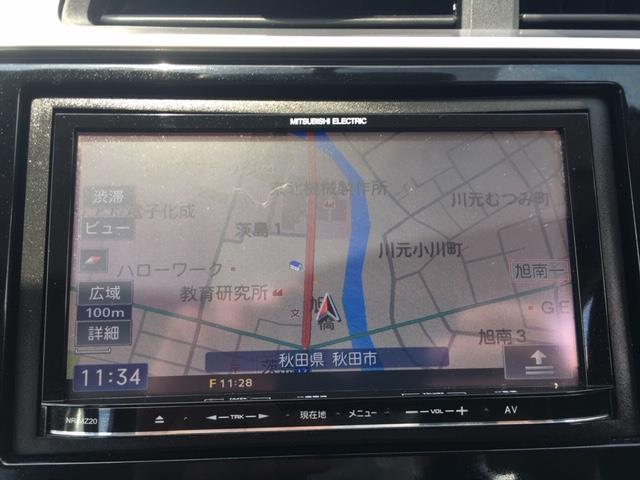 13G 4WD/社外メモリーナビ/AM/FM/Bluetooth/ETC/横滑り防止機能/アイドリングストップ(5枚目)