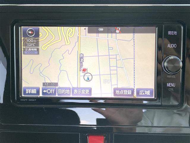 カスタムG 純正SDナビフルセグTV/両側パワースライドドア/クルーズコントロール/アイドリングストップ/ETC/オートライト/ステアリングスイッチ/革巻きステアリング/オートライト/ウィンカーミラー(4枚目)
