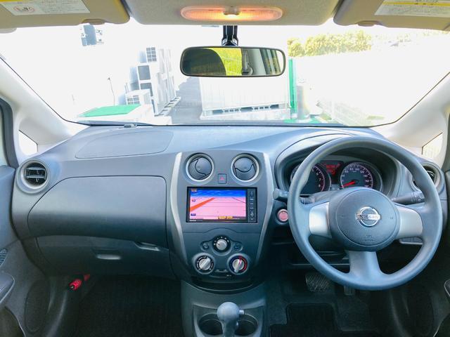 X 純正SDナビ【CN-H510WD】(AM/FM/CD/DVD/BT)/バックカメラ/ETC/純正フロアマット/ドアバイザー/スマートキー/プッシュスタート/アイドリングストップ(4枚目)
