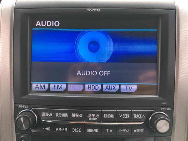 240S プライムセレクションII 4WD 純正HDDナビ CD DVD バックカメラ フルセグ 両側パワースラードドア パワーバックドア プッシュスタート  スマートキー クリアランスソナー ウィンカーミラー ドアバイザー(4枚目)