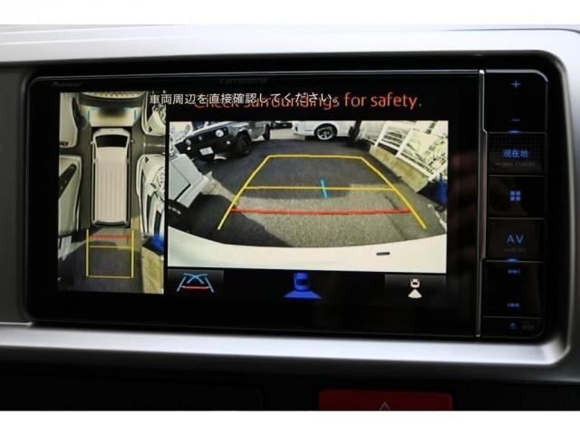 新型のパノラミックビューモニター搭載で駐車時も多角的な視野で駐車も楽々です!!