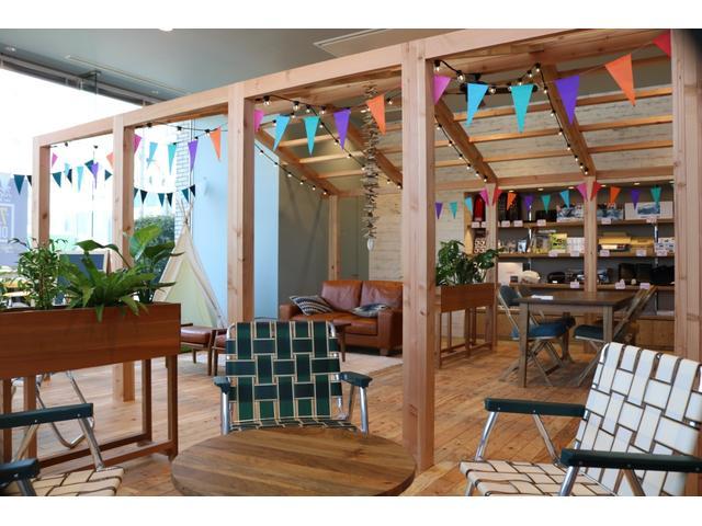 木の内装がリラックスした空間をご提供いたします!