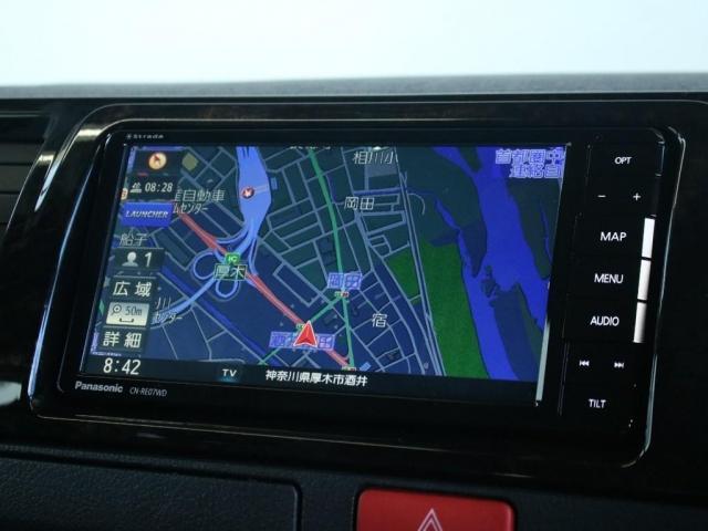 スーパーGL ダークプライムII ロングボディ オフロードパッケージ 衝突安全ブレーキ インテリジェントクリアランスコーナーソナー パノラミックビューモニター レーンキープアシスト SDナビ ETC2.0 TRDフロントバンパー(11枚目)