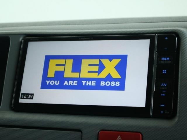 スーパーロングワイドDX GLパック レジアスエーススーパーロング ハイルーフワイドボディ 4WDガソリン車 5人乗り ベッドキット装着済み ナビ&ETC装着済み RENOCAコーストラインフェイスチェンジ テールガード装着済み(3枚目)