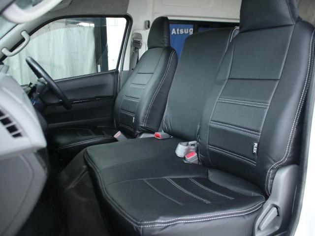 スーパーロングワイドDX GLパック レジアスエーススーパーロング ハイルーフワイドボディ 4WDガソリン車 5人乗り ベッドキット装着済み ナビ&ETC装着済み RENOCAコーストラインフェイスチェンジ テールガード装着済み(6枚目)