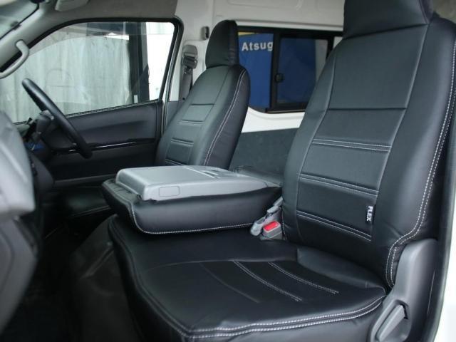 スーパーロングワイドDX GLパック レジアスエーススーパーロング ハイルーフワイドボディ 4WDガソリン車 5人乗り ベッドキット装着済み ナビ&ETC装着済み RENOCAコーストラインフェイスチェンジ テールガード装着済み(7枚目)