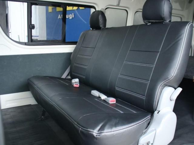 スーパーロングワイドDX GLパック レジアスエーススーパーロング ハイルーフワイドボディ 4WDガソリン車 5人乗り ベッドキット装着済み ナビ&ETC装着済み RENOCAコーストラインフェイスチェンジ テールガード装着済み(8枚目)