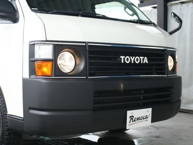 スーパーロングワイドDX GLパック レジアスエーススーパーロング ハイルーフワイドボディ 4WDガソリン車 5人乗り ベッドキット装着済み ナビ&ETC装着済み RENOCAコーストラインフェイスチェンジ テールガード装着済み(13枚目)