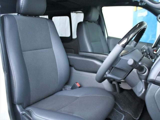 スーパーGL ダークプライムII ロングボディ MC後ハイエース ディーゼル4WD ALPINE社製BIG-Xフローティングナビ&ETC2.0搭載 AVEST社製シーケンシャルウィンカーミラー FLEXbyValenti ULTRAΣテールライト(6枚目)