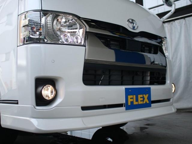 スーパーGL ダークプライムII ロングボディ MC後ハイエース ディーゼル4WD ALPINE社製BIG-Xフローティングナビ&ETC2.0搭載 AVEST社製シーケンシャルウィンカーミラー FLEXbyValenti ULTRAΣテールライト(16枚目)