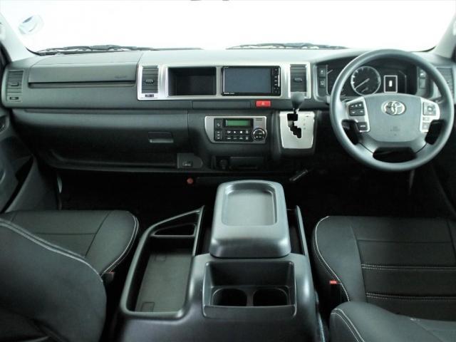 GL ロング シートアレンジVer3内架装 自動安全ブレーキシステム インテリジェントクリアランスコーナーソナー パノラミックビューモニター ETC2.0 SDナビ 後席フリップダウンモニター(2枚目)