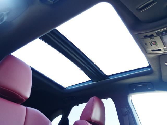 RX450h Fスポーツ パノラマサンルーフ レーダークルーズコントロール 赤革シート マークレビンソン 全席パワーシート 置くだけ充電(11枚目)
