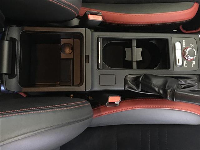 STI タイプS4WD 6MT 社外メモリナビ 純正18AW(15枚目)