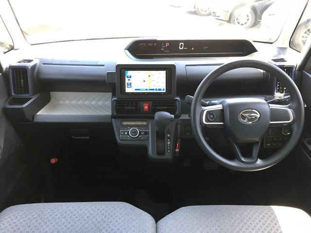 X 届出済未使用車 衝突被害軽減ブレーキ 車線逸脱防止警報 オートマチックハイビーム シートヒーター 片側電動スライドドア USBポート アイドリングストップ オートライト LEDヘッドライト(2枚目)