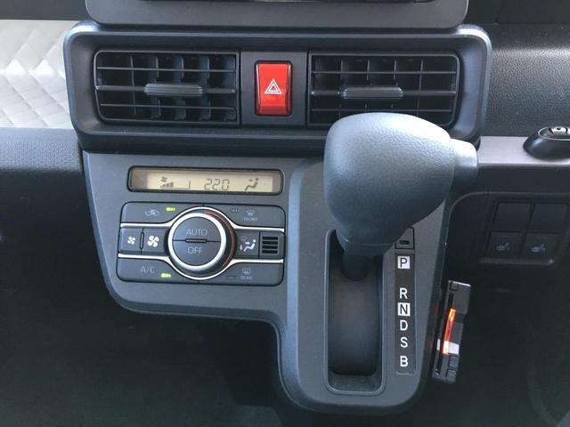 X 届出済未使用車 衝突被害軽減ブレーキ 車線逸脱防止警報 オートマチックハイビーム シートヒーター 片側電動スライドドア USBポート アイドリングストップ オートライト LEDヘッドライト(13枚目)