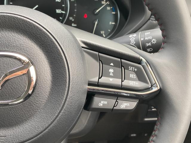 ◆レーダークルーズコントロール(全車速追従機能付 ◆ミリ波レーダーと単眼カメラで先行車を認識し、車速に応じた車間距離を保ちながら追従走行を支援します。