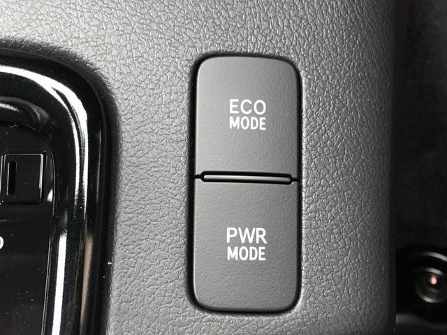 ◆ECOMODE【ECOスイッチを押すとバルブタイミングや点火装置の制御など省燃費モードでそうこうしてくれ、メーター内に表示されます。】