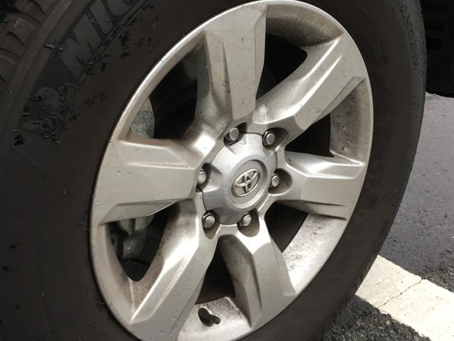 ◆純正アルミホイール【17×7.5 JJ】◆スペアタイヤ【車両装着タイヤ、床下付】