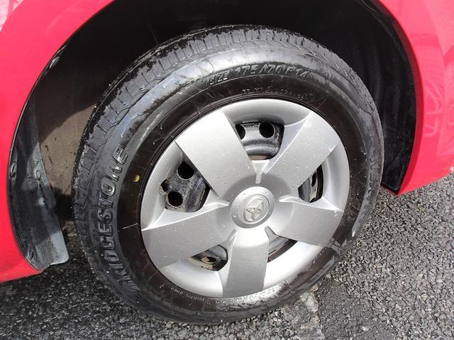 タイヤも充分にあります。