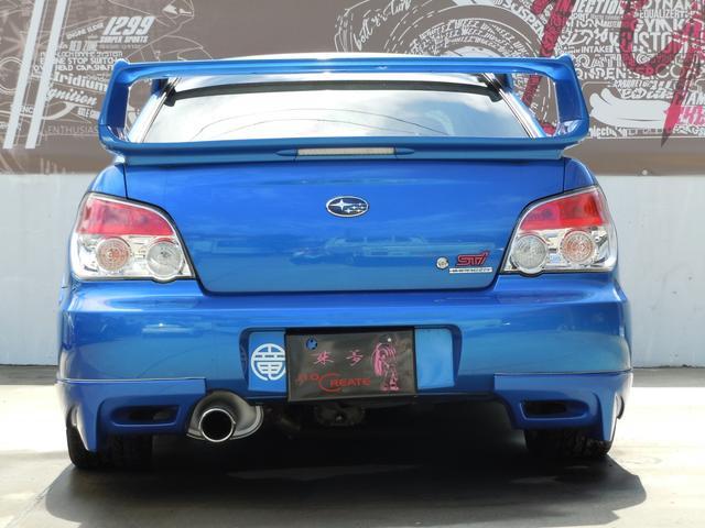 スバル インプレッサ WRX STi 社外車高調 サンルーフ