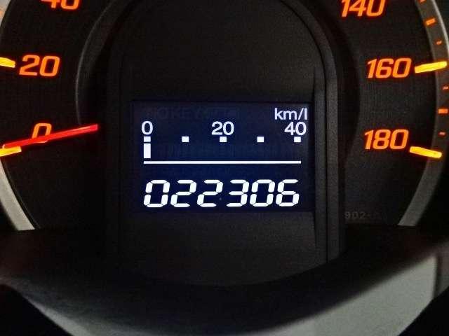 走行は22,306kmです♪