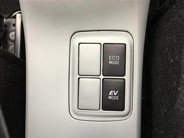 【EVモード】ガソリンを使用せず、バッテリーによりモーターのみを駆動させて走行するモード。