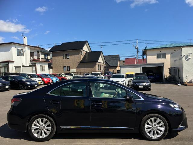 250h バージョンI 白革エアコンシート フルセグナビ(7枚目)