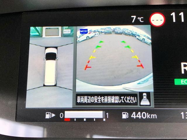 アラウンドビューモニター『 便利な【アラウンドビューモニター+バックモニター】で安全確認もできます。駐車が苦手な方にもオススメな便利機能です。』