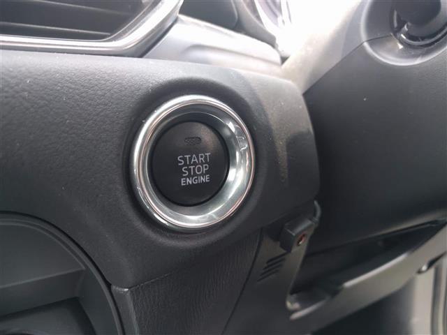 【プッシュスタート】鍵を取り出さなくてもプッシュでエンジンスタート♪便利ですよ!