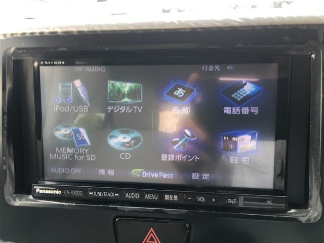X 社外SDナビ TV 片側パワースライドドア(3枚目)