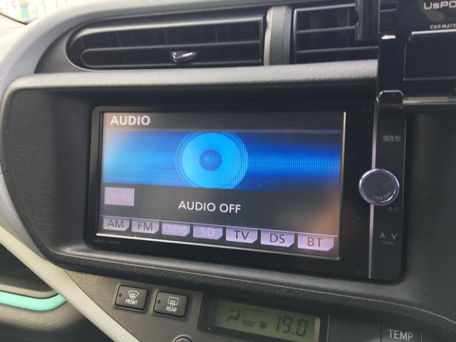 S 純正SDナビ Bluetooth CD DVD フルセグTV ETC キーレスエントリー EVモード オートエアコン ヘッドライトレベライザー 電動格納ミラー(6枚目)