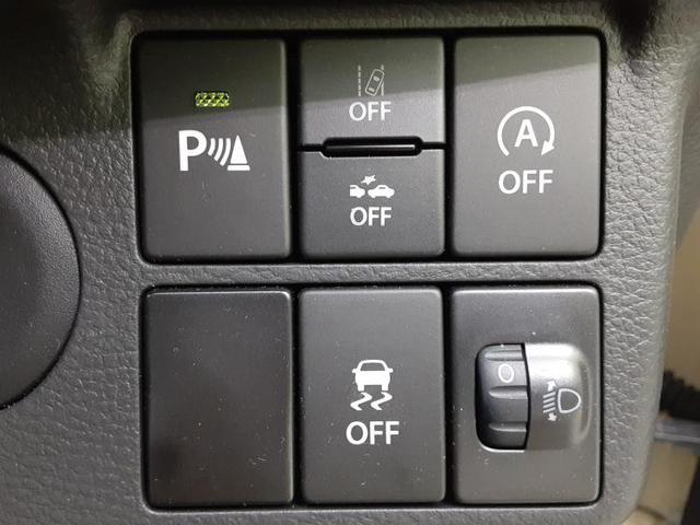 L EBD付ABS/横滑り防止装置/アイドリングストップ/エアバッグ 運転席/エアバッグ 助手席/パワーウインドウ/パワーステアリング/FF/マニュアルエアコン 衝突被害軽減システム 禁煙車 オートライト(16枚目)