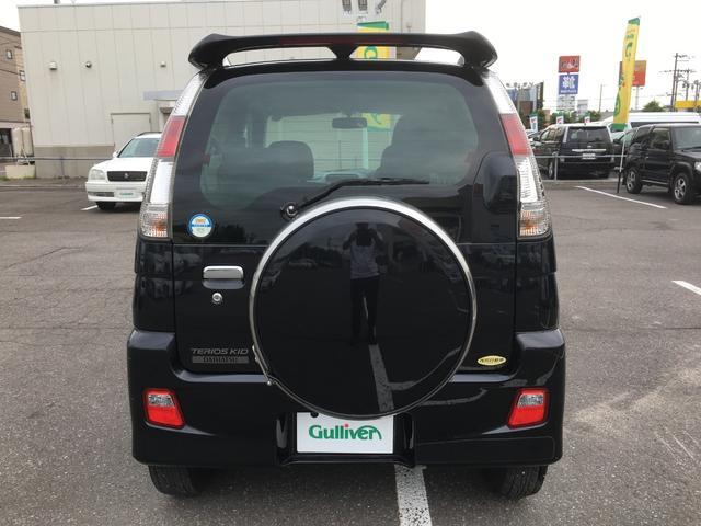 カスタムL 4WD 1オーナー CDオーディオ 背面タイヤ(7枚目)