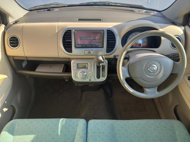 E ワンオーナー ナビ スマートキー オートAC バイザー PVガラス ベンチシート パーキングセンサー 集中ドアロック ABS イモビライザー タイミングチェーン 整備保証付(5枚目)