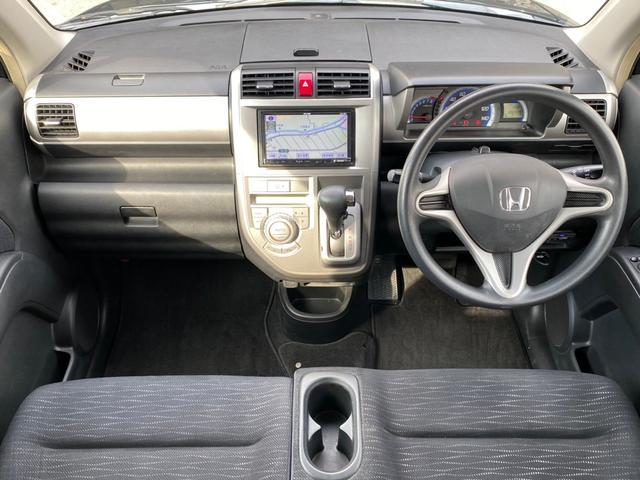 ダイナミック スペシャル ナビ地デジ Bluetooth スマートキー 14AW ETC オートAC バイザー PVガラス ウインカーミラー 集中ドアロック ベンチシート 取説 スペアキー ABS イモビライザー 整備保証付(5枚目)