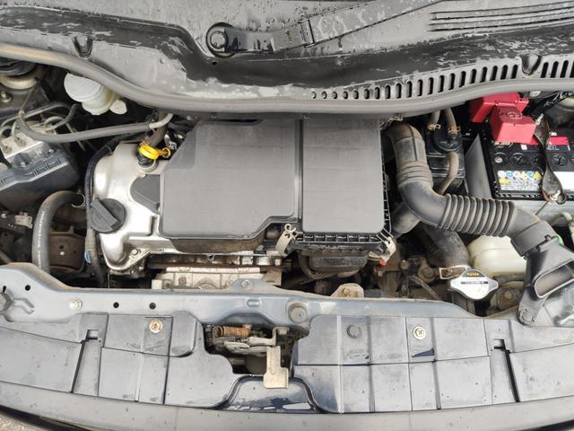X CD パワスラ スマートキー プッシュスタート ETC オートAC バイザー PVガラス ベンチシート 取説 記録簿 ABS イモビライザー タイミングチェーン 整備保証付(28枚目)