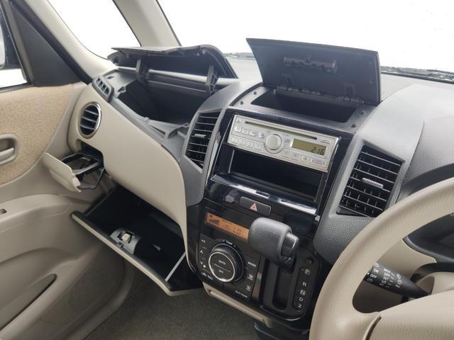 X CD パワスラ スマートキー プッシュスタート ETC オートAC バイザー PVガラス ベンチシート 取説 記録簿 ABS イモビライザー タイミングチェーン 整備保証付(32枚目)