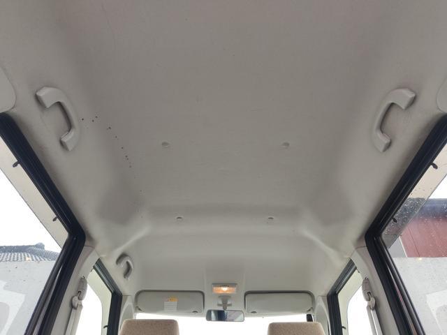 X CD パワスラ スマートキー プッシュスタート ETC オートAC バイザー PVガラス ベンチシート 取説 記録簿 ABS イモビライザー タイミングチェーン 整備保証付(46枚目)
