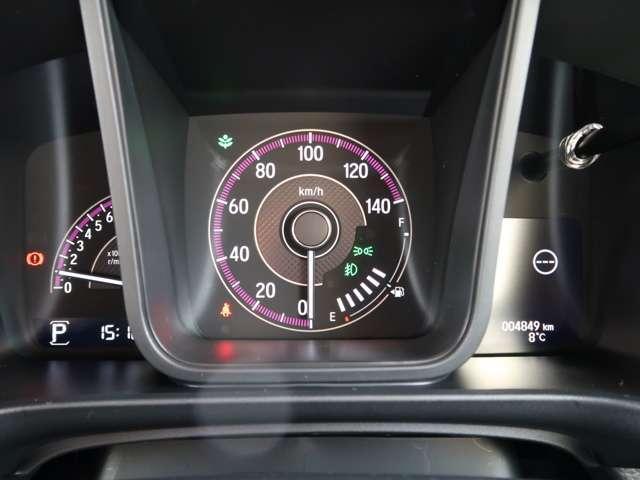 Lホンダセンシング 2年保証付 デモカー 衝突被害軽減ブレーキ 前後ドラレコ サイド&カーテンエアバッグ メモリーナビ Bカメラ フルセグTV 純正アルミ LEDヘッドライト オートライト ETC ワンオーナー車(8枚目)